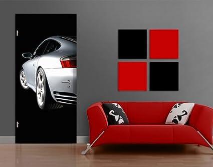 Papel Pintado Para Puerta Porsche Turbo 996 No. 10, 118 x 221 cm