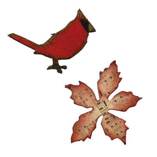 Christmas Cardinal Cutting Dies