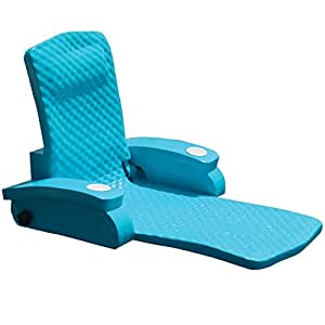 TRC Recreation Super Soft Adjustable Recliner, Aquamarine