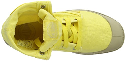Basse Baggy Scarpe Putty Lemon Giallo Yellow Stringate Donna Palladium 4Eq15Zn4