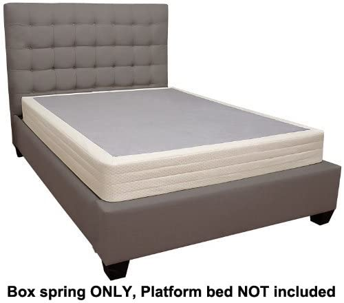 Amazon.com: Lifetime sleep products Box Spring for Memory Foam