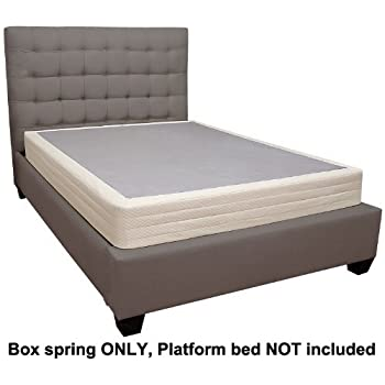 lifetime sleep products box spring for memory foam mattress twin x large kitchen. Black Bedroom Furniture Sets. Home Design Ideas