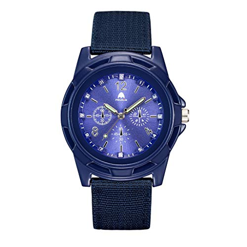 - DAGE Outdoor Sports Special Forces Men's Quartz Movement Military Watch with Chronograph Dial Nylon Strap