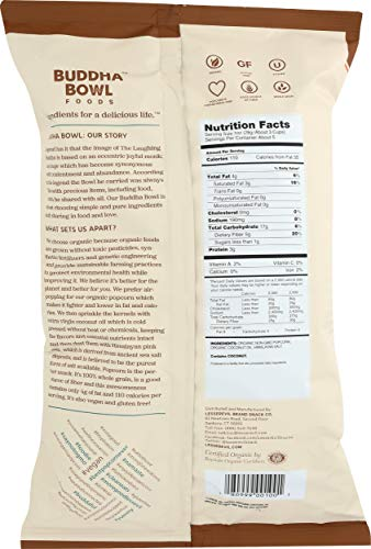 LesserEvil, Organic Popcorn, Himalayan Pink, 5 Ounce