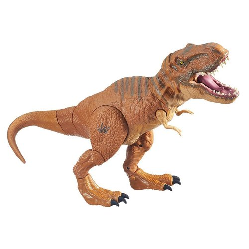 (Jurassic World, Stomp and Strike Tyrannosaurus Rex T- Rex Action Figure)