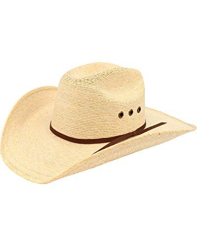 Palm Straw Cowboy Hat - 5