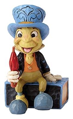 Jim Shore Disney Traditions Mini Jiminy Cricket on Match Box Figurine 4054286