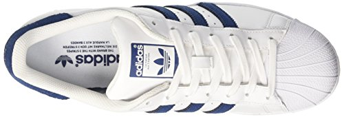 collegiate Bianco Scarpe Navy Adidas Uomo Basse Ginnastica Da White footwear collegiate Navy Superstar P5Y5qU
