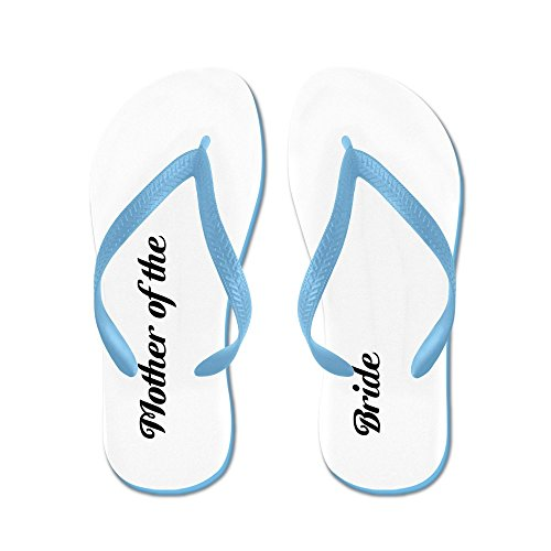 Cafepress Moeder Van De Bruid - Flip Flops, Grappige String Sandalen, Strand Sandalen Caribbean Blue