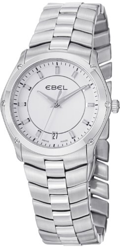 Ebel Classic Sport Grande Ladies Stainless Steel White Dial Watch 9954Q31/03450