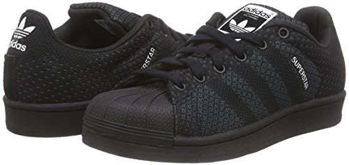 quality design 27385 8ed0a adidas Superstar Weave, Unisex Adults  Trainers, Black (Core Black   Core  Black   Core White), 9.5 UK (44 EU)  Amazon.co.uk  Shoes   Bags
