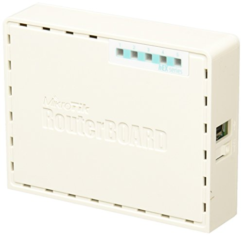 Mikrotik hEX RB750Gr3, 5-port gigabit router USB microSD PoE