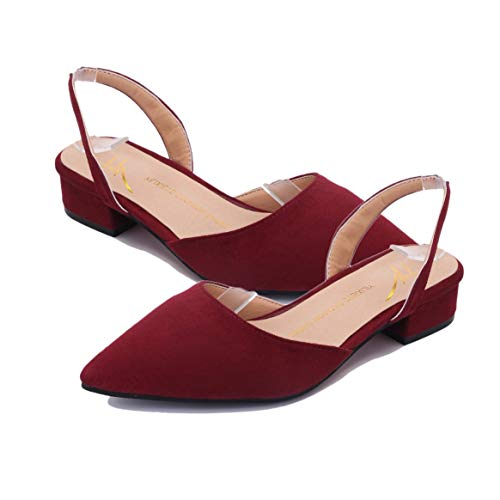 Moda Las Zapatos Punta Mujeres Verano De Sandalias Tiras Plano Ocasionales Respirables Tacón Femeninas Señoras xggqwA