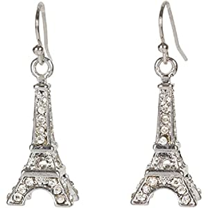 Amazon.com: Heirloom Finds Eiffel Tower Paris Earrings in