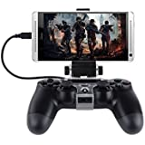 Adjustable 180 Degree Android Phone Gaming Clip Clamp Mount Holder Stand For Playstation 4 Ps4 Controller