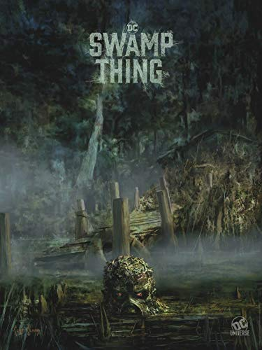 "SWAMP THING DC Universe - 18""x24"" Original TV Poster SDCC 2019 Exclusive Comic Con"