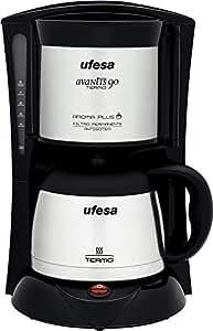 Ufesa CG7236 - Máquina de café Avantis 90 Termo, 800 W, color negro y gris