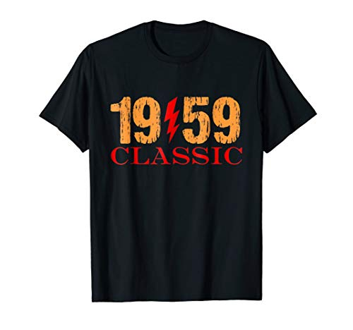 1959 Vintage Classic Rock T-Shirt & Gift Idea 60th birthday ()