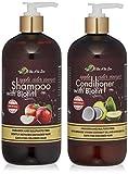 Apple Cider Vinegar & Biotin Shampoo & Conditioner | Infused with Aloe...
