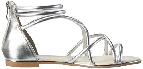 Another of Selmae1 Silver100 con Mujer Pair para Plateado Cuña Sandalias Shoes Arw5A7q