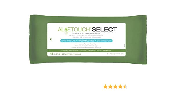 Amazon.com : ALOETOUCH, SELECT, WIPES, FRAG FREE, 48/ by Aloetouch : Beauty