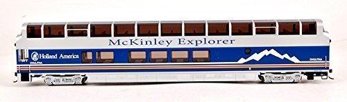 Bachmann Industries 1056 89' Colorado Railcar Full-Dome Passenger Lighted Interior Mckinley Explorer Chulitna A-Car, HO Scale by Bachmann Trains
