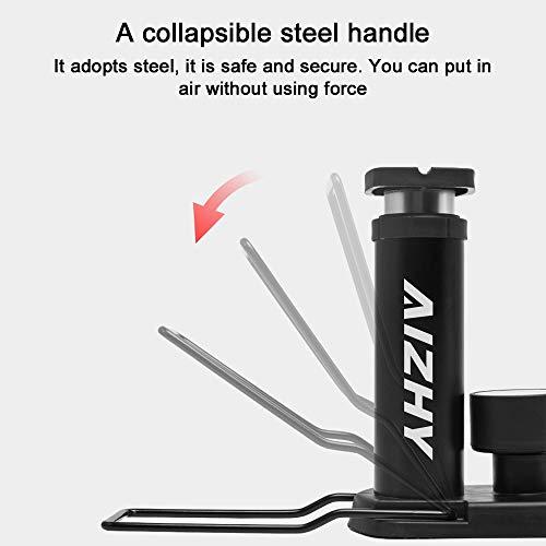 Mini Portable Bicycle Tire Inflator Bike Air Pump Schrader Presta Valve Pressure
