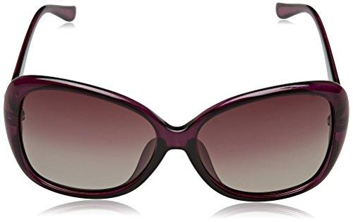 TIME100-la série de Smileyes Lunettes de soleil femme et monture de lunette la forme de papillon à la mode changement graduel 2017 TSGL077 Violet