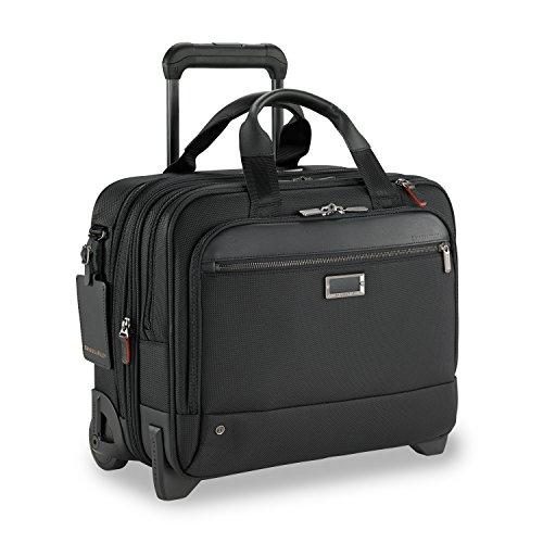 Briggs & Riley @work Medium 2-wheel Expandable Briefcase, Bl