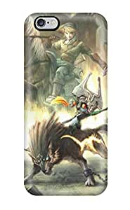 Protective Tpu Case With Fashion Design For Iphone 6 Plus (the Legend Of Zelda )
