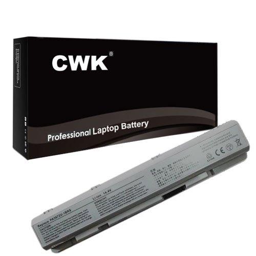 (CWK Long Life Replacement Laptop Notebook Battery for Toshiba Satellite E100 E105 PA3672U-1BRS E100 PA3672U-1BRS E105-S1402 E105-S1602 E105-S1802 E105 E105-s140 E105-S1402)