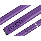 13mm or 9mm Palko Grafex Non Wood Neon Graphite + Fiberglass + Carbon Fibre Composite Pool Snooker Billiards Billiard Cue Stick Cues Sticks (Purple, 13mm)