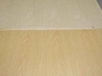 """Red Oak wood veneer 48/"""" x 96/"""" with paper backer 4/' x 8/' x 1//40/"""" thick A grade"""