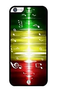 iZERCASE Rastafari Reggae Colors Music Beats RUBBER iPhone 5C Case - Fits iPhone 5C T-Mobile, AT&T, Sprint, Verizon and International