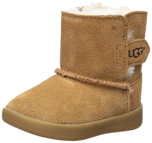 UGG Unisex Baby I Keelan Fashion Boot, Chestnut, 2/3 M US Infant]()