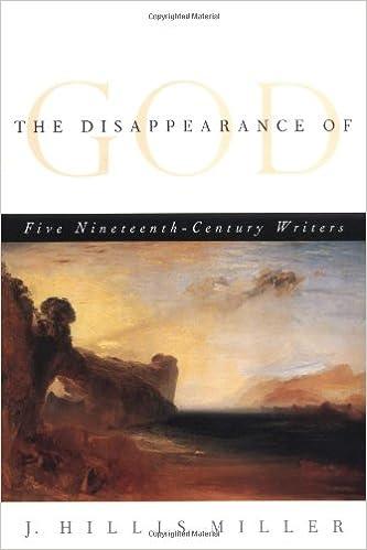 Amazon com: The Disappearance of God: FIVE NINETEENTH