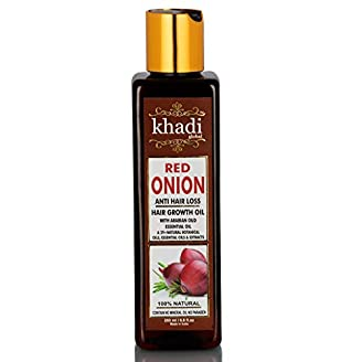 Khadi Global Red Onion Hair Oil for Hair Growth India 2020