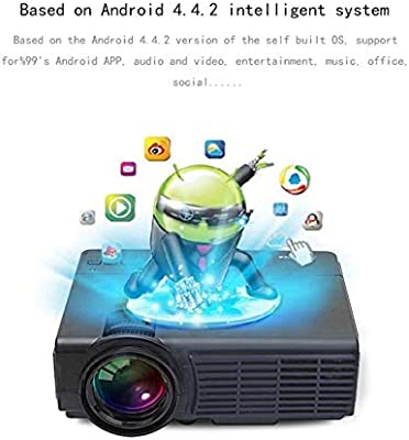Proyector Smart HD 1080P HD Home Entertainment Proyector LED ...