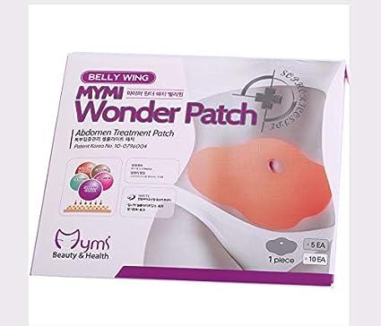 HDEO Wonder patch minceur ventre MYMI Anti-Cellulite Bruleur de Graisse x 5 pcs Perte de Poids