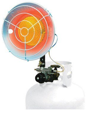 ProTemp PT-16-TTC Propane Tank Top Heater—Variable Output, 16,000 BTU