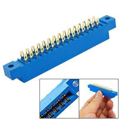 Card Edge Connector 3.96mm Pitch 30P PCB Soldering Socket (0.156' Wire)