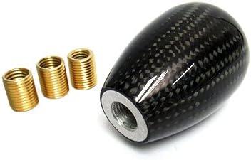 V/éritable Fibre de fibre de carbone 3d universel type R manuelle 5/vitesses Shifter Levier Soufflet