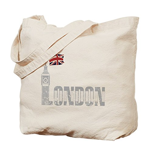CafePress–Londres–Gamuza de bolsa de lona bolsa, bolsa de la compra