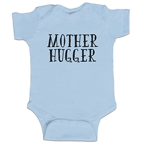 - Decal Serpent Mother Hugger Funny Baby Boy Bodysuit Infant - Light Blue - 6 Month