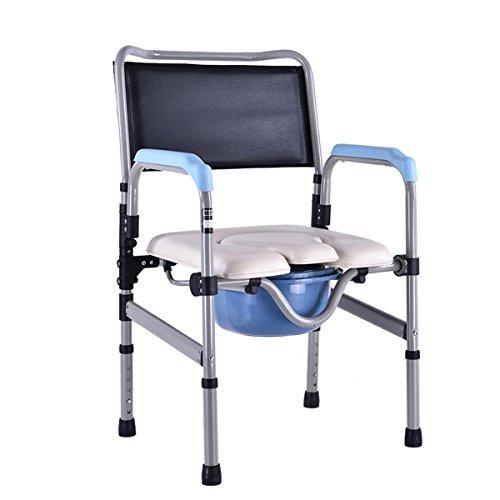 SHKD Chaise pliante Vieux homme assis à la chaise Personne