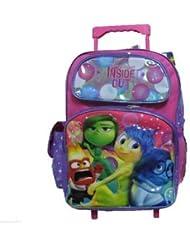 Disney Pixar Inside Out Large Rolling Backpack
