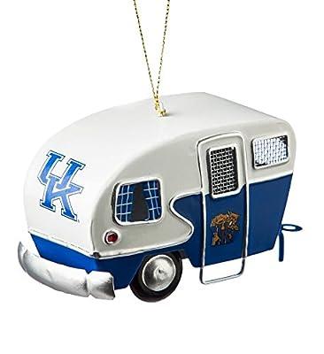 Team Sports America Metal Kentucky Wildcats Camper Ornament