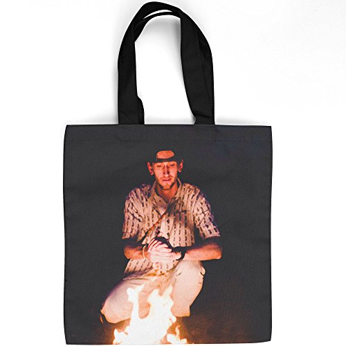 Westlake Art - Town Person - Tote Bag - Picture Photography Shopping Gym Work - 16x16 Inch (D41D8) ()