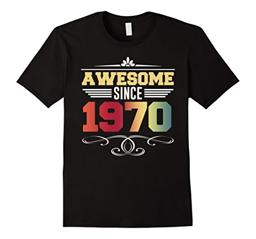 Great Costume For 48th Birthday. Vintage 1970 T-Shirt (1970's Party Costume Ideas)