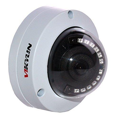 VIKYLIN 4MP Dome IP Camera VKLA4F 3.6mm Lens IR 20m ONVIF2.4 PAL/NTSC IP66